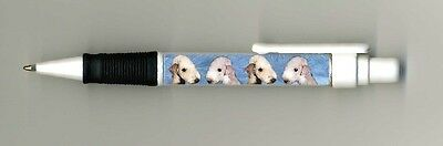 Bedlington Terrier Dog Design Retractable Acrylic Ball Pen PBED1S-by paws2print