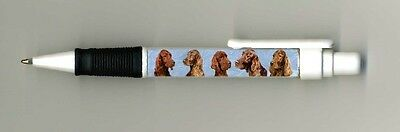 Irish Setter Dog Design Retractable Acrylic Ball Pen PIRISHSET-2 by paws2print
