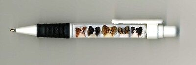 Papillon Dog Design Retractable Acrylic Ball Pen by paws2print