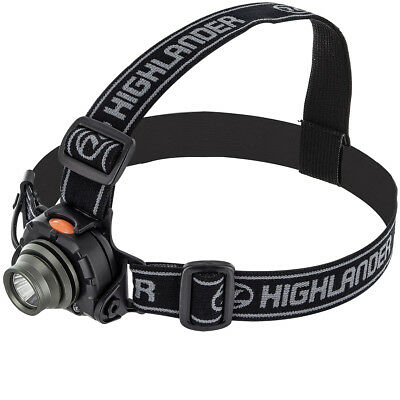 Highlander Wave 3W Led Cree Sensor Headlamp Camping Hands Free Head Torch Black