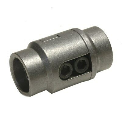 Tube Connector Bung for 1.5 Inch OD Tube With .095 Inch Wall Thickness, Notched