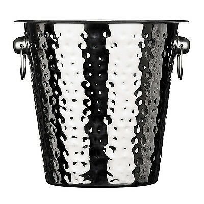 Champagne Bucket Premier Housewares Hammered Stainless Steel Ice Cooler