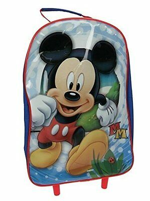 Mochila Maleta con Ruedas Mickey Mouse School Travel Trolley Wheeled Bag Colegio