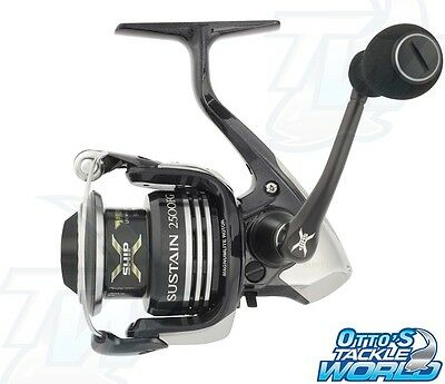 Shimano Sustain 2500FG Spinning Fishing Reel BRAND NEW at Otto's Tackle World