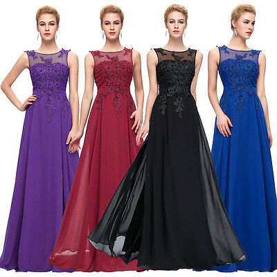 PLUS SIZE 2-24W Wedding Evening Dresses Party Ball Gown Prom Bridesmaid Dress GK