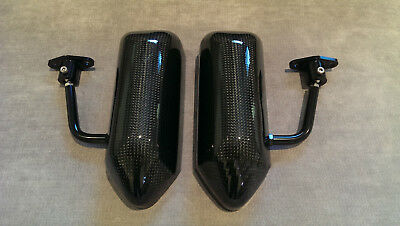 F1 style ABS racing side FENDER mirrors 106 107 205 206 207 306 405 406 605 CILO