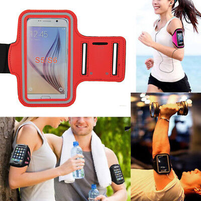 Sports Gym Running Jogging Arm Band Case Cover Holder Fr Samsung Galaxy S5 S6