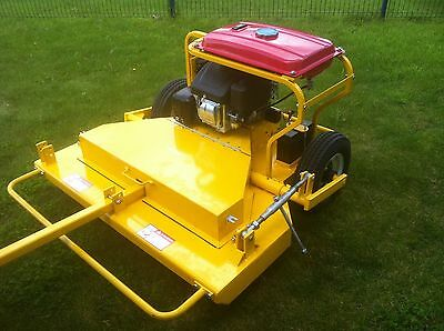 """46"""" cut paddock topper / lawn mower 13hp electric start can tow by a Quad CT2958"""