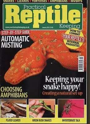 Practical Reptile - January 2013 -  Automatic Misting