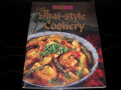 Aust Womens Weekly Easy Thai Style Cookery Cook Book Chef Recipes