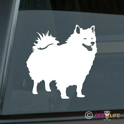 American Eskimo Sticker Die Cut Vinyl - Spitz Dog Eskie
