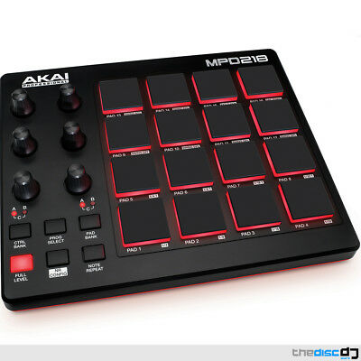 """Akai MPD218 Performance Pad Controller, Ableton Live Lite, *Free Software"""""""