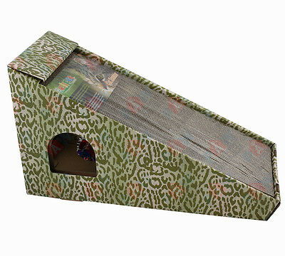Cat Kitten Scratching Board with Catnip and Ball Corrugated Board for Claws