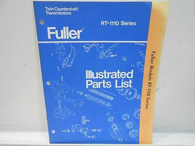 Eaton fuller transmission rt 1110 series parts list book 900 fuller illustrated parts list rt 1110 series ccuart Choice Image