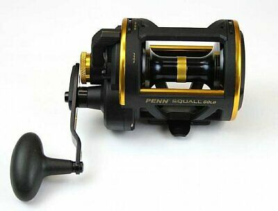 Penn Squall 50LD Lever Drag Overhead Fishing Reel BRAND NEW at Otto's