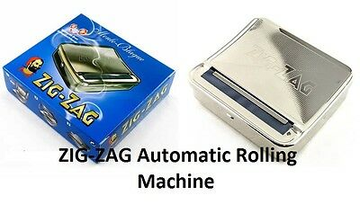 Zig Zag Rolling Machine Automatic Tobacco Cigarette Roller Box / Tin