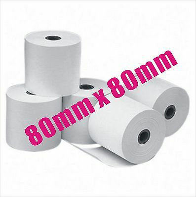 Pick Up Only 100 x Rolls 80x80mm Thermal Paper Cash Register Receipt Roll