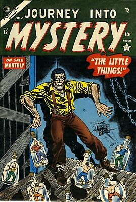 Journey Into Mystery 19 Comic Book Cover Art Giclee Reproduction on Canvas