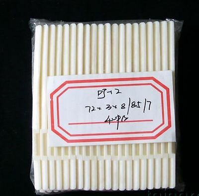 Acoustic Guitar Buffalo slotted bone saddles , 40 pieces DJ12