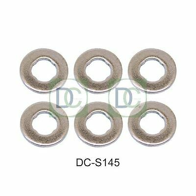 BMW 530 D (E60) Bosch Common Rail Diesel Injector Washers / Seals Pack of 6