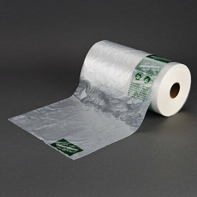 Produce Roll bags 10x15 HDPE 2 Rolls per case 2800 count