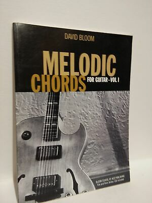 Melodic Chords For Guitar Vol 1 Guitar Educational Book And Cd