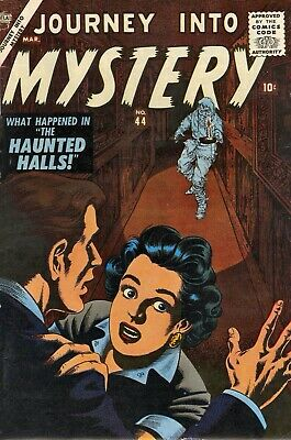 Journey Into Mystery 44 Comic Book Cover Art Giclee Reproduction on Canvas