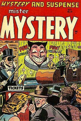 Mister Mystery 19 Comic Book Cover Art Giclee Reproduction on Canvas