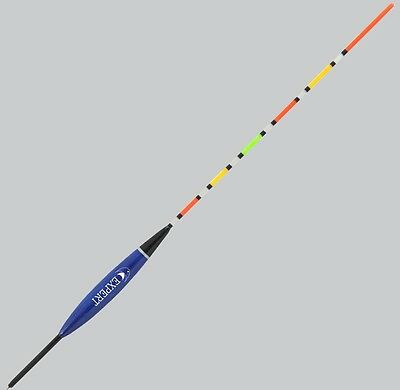 Unloaded waggler float, glow antenna - roach fishing tackle