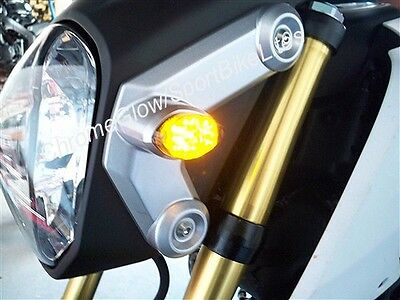 Honda Grom MSX125 Front LED Turn Signal Kit - Clear Lens