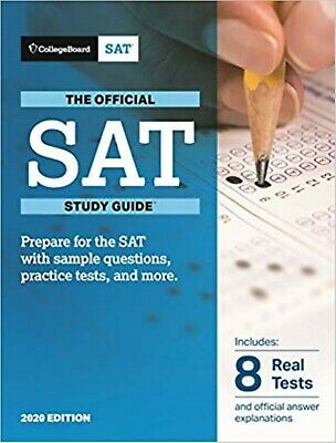 The Official SAT Study Guide, 2018 Edition by The College Board (New Paperback)
