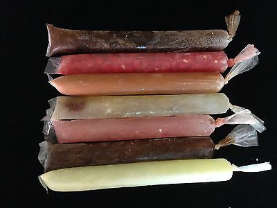 Ice Cream Popsicle Disposable Plastic Bags Ice Candy Bags 1 ½ x 12 '' (100 bags)