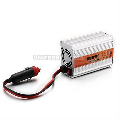 150W Car USB DC 12V to AC 220V Power Inverter Charger Converter Laptop Adapter