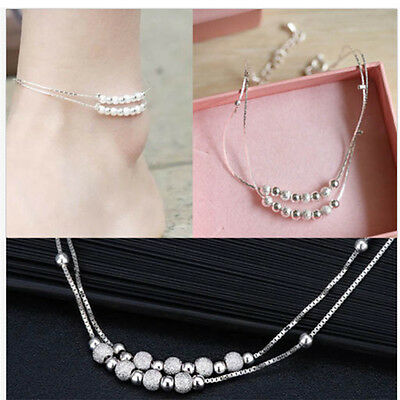 New Design Bracelet Foot Silver Anklet Foot Leg Chain Bracelet For Women