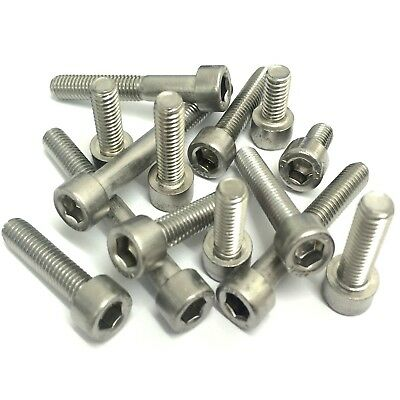 M1.6 M2 M2.5 M3 A2 Stainless Steel Allen Bolt Socket Cap Screws Hex Head DIN 912