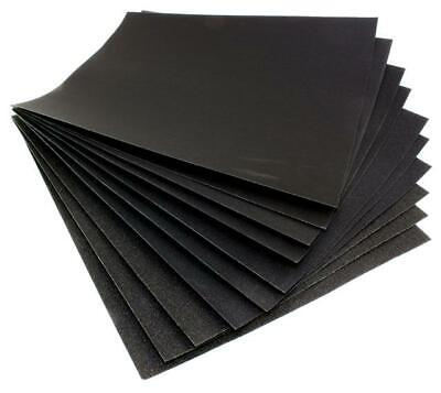 Abrasive Wet And Dry Paper 80 Grit, Pack Of 5 Sanding Sheets