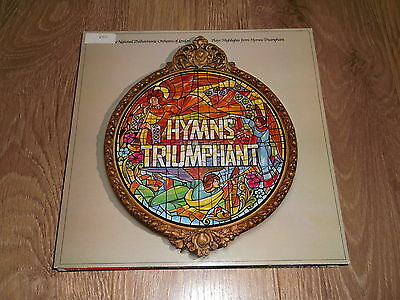 Highlights From Hymns Triumphant ~ National Phil. Orchestra Of London Vinyl Lp