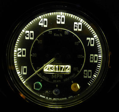 Ford Consul Granada Corsair Zephr 643 Dash Instrument Panel LED Light bulbs x6