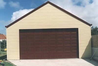2.24h x 4.8w Sectional Garage Door with automatic Opener