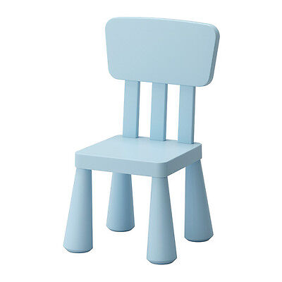 Kids Chair Indoor/Outdoor Small Chair (Light Blue)