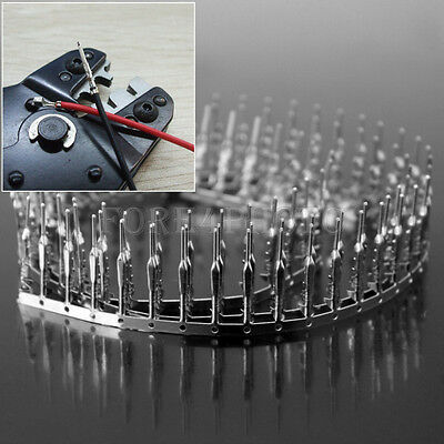 100pcs Useful Jumper Wire Cable Male Pin Connector Terminal Pitch 2.54mm Hot