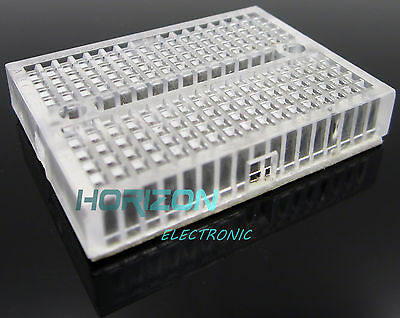 10pcs Transparent Solderless Prototype Breadboard SYB-170 Mini Nickel Plating