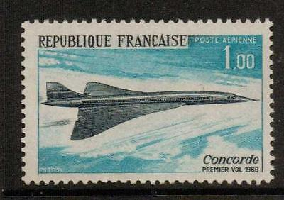 FRANCE SG1823 1969 1st FLIGHT OF CONCORDE MNH