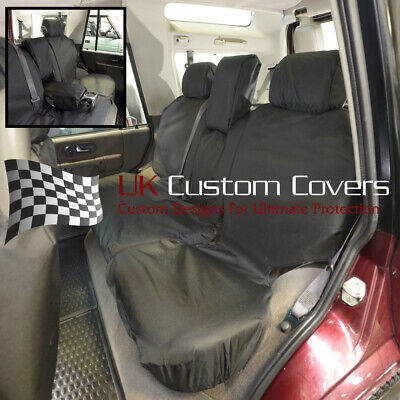 BLACK 148 TAILORED /& WATERPROOF FRONT SEAT COVERS LAND ROVER DISCOVERY 2 TD5