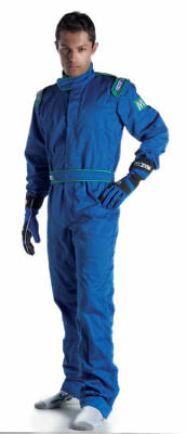 SPARCO INDOOR K-1 Karting Suit KART OVERALL BLUE S M L XL XXL FREE DELIVERY