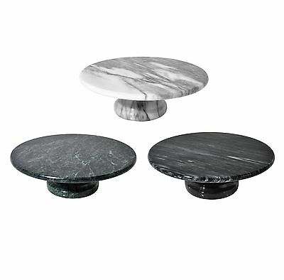 Marble Cake Stand Decorating Cupcake Serving Tray & Dish - Brand NEW