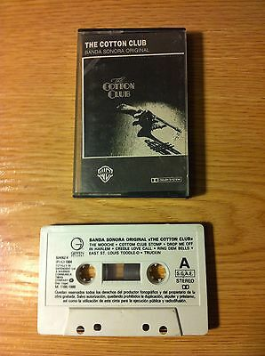The Cotton Club - Ost - Bso - 1988 - Cinta Tape Cassette K7
