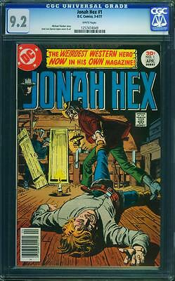 Jonah Hex 1 Cgc 9.2 - White Pages