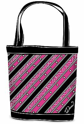 New Black & Pink Classy Dance Tote Bag by DansBagz