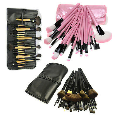 New 32Pcs Professional Cosmetic Foundation Kabuki Brush Kit Makeup Brushes Set